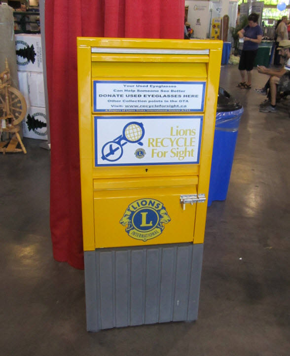 a48b5a81a8a2 Recycle For Sight Mailbox - Used at the Canadian National Exhibition and  other Special Events